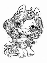 Slime Poopsie Coloring Pages Surprise Unicorn Printable Colors Mycoloring sketch template