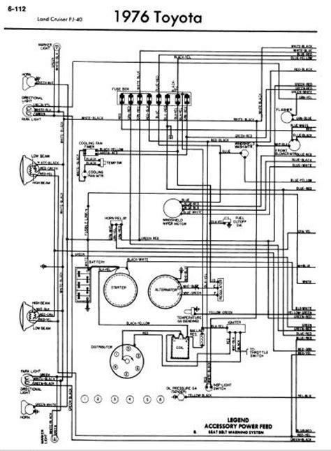 wiring diagram 1970 toyota fj40 toyota wiring diagram