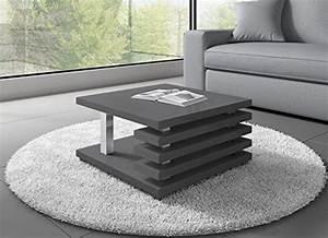 Couchtisch Grau Hochglanz : couchtisch oslo 60 x 60 cm grau hochglanz m bel24 ~ Indierocktalk.com Haus und Dekorationen