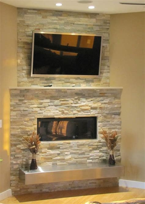 stacked for fireplace stacked stone fireplace with floating hearth