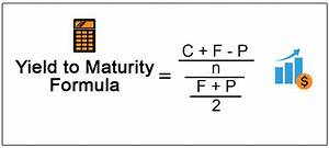 Annual Payment Formula Yield To Maturity Formula Step By Step Calculation With