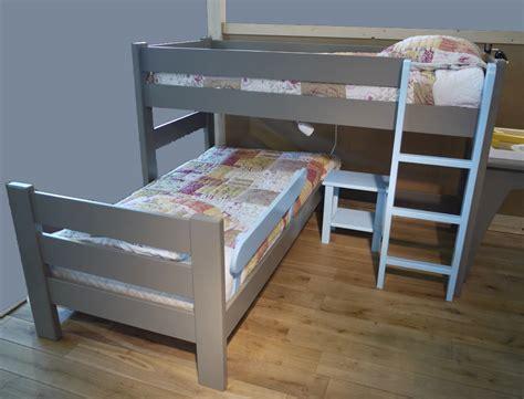 lit bureau adulte lit d 39 enfant surlev mathys by bols bois massif secret