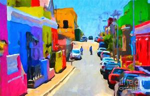Bo-kaap Painting by Chris Armytage