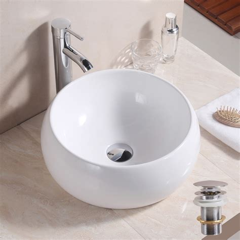 white  basin sink bathroom cloakroom ceramic counter