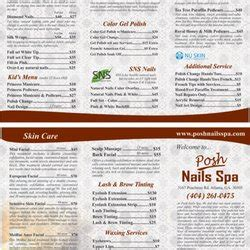 Seven Ls Buckhead Menu by Posh Nails Spa In Buckhead 52 Photos 36 Reviews Nail