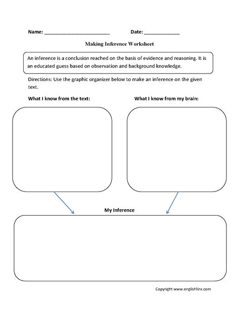17 best images of second grade inferences