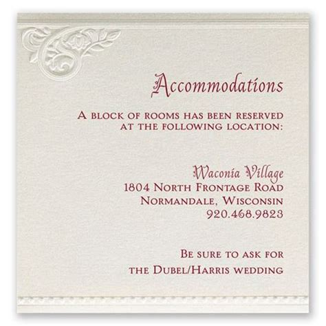pearls  lace accommodations card invitations  dawn