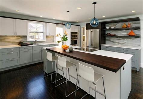 high end furniture brands Kitchen Contemporary with