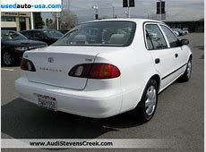 For Sale 1998 passenger car Toyota Corolla CE Sedan, San