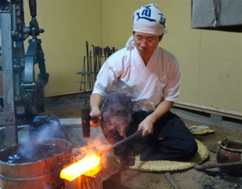 samurai swordsmith japanese sword workshop
