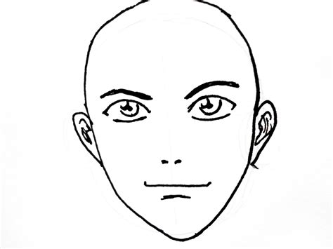 cartoon party drawing face