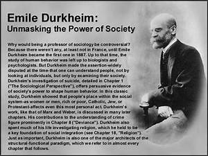 Emile Durkheim [follow this link to find a bundle of clips ...