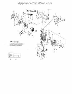 Parts For Poulan Pp4218avx Type 1  Shield    Cylinder