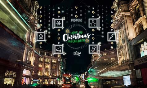 when do oxford street christmas lights go on christmas