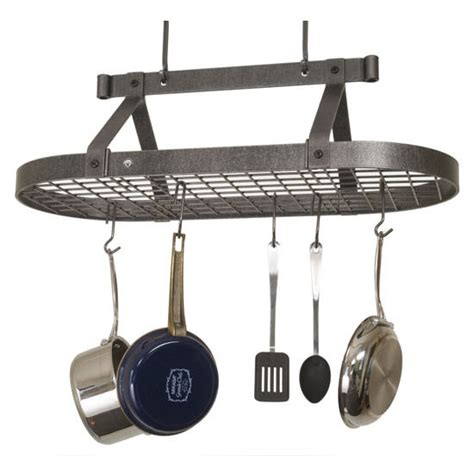 Ceiling Mount Pot Rack by Potracks Premier Collection Pr16b Series Ceiling Mounted