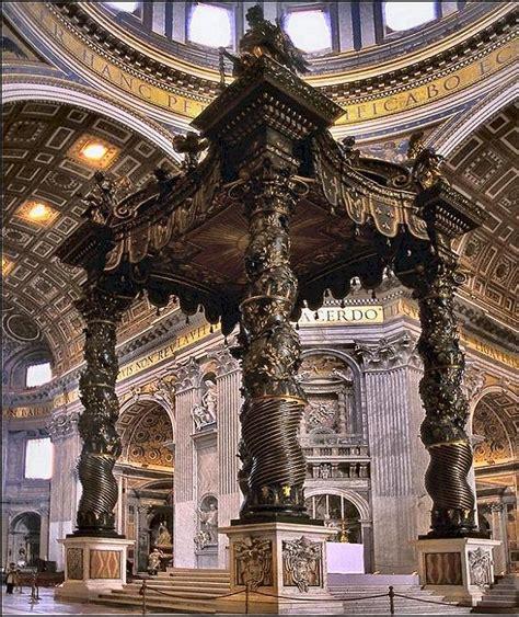Baldacchino Bernini by Architettura Baldacchino Doppiozero