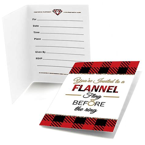 flannel fling   ring bachelorette party