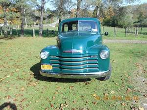 1951 Chevrolet 3100 6 Cylinder 4 Speed Manual 5 Window