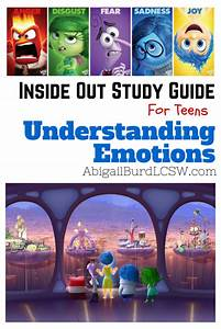 An  U0026quot Inside Out U0026quot   Disney  Pixar  Study Guide  Understanding