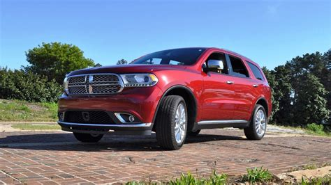 2015 Durango Review by 2015 Dodge Durango Citadel V6 Awd