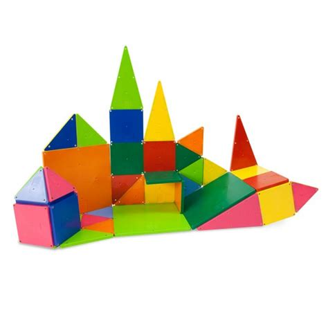 magna tiles 174 clear colors 100 piece set magnatiles 174