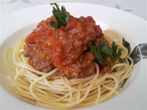 recettes de cuisine simples et rapides recettes de spaghetti à la bolognaise de cuisine simple et