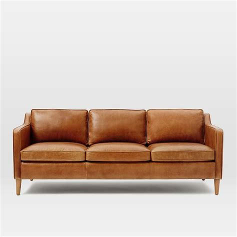west elm hamilton leather sofa hamilton leather sofa west elm