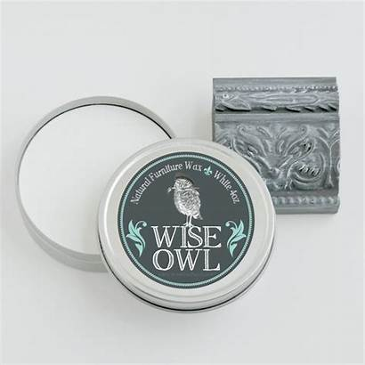 Wax Wise Owl Furniture Natural 4oz Clear