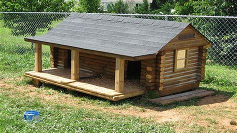 build cabin  landscape timbers landscape timber log cabin dog house cabin diy treesranchcom
