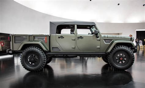 jeep chief truck view i predict a riot jeep kaiser crew chief 715 concept
