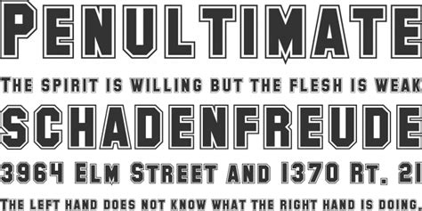 Collegiate Font Free By Shyfonts » Font Squirrel