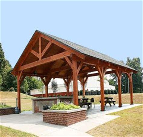 timber frame pavilions shelters  harmony timberworks