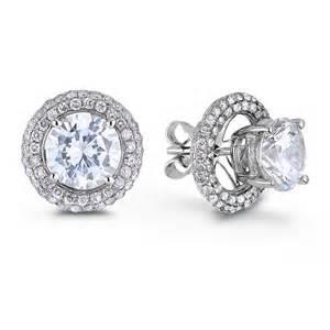 his and hers bridal lugaro diamond earring jackets earrings jewellery