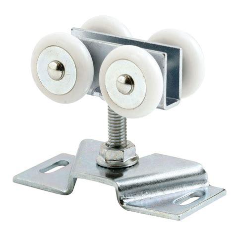 pocket door hardware rollers on bearing pocket door roller and bracket
