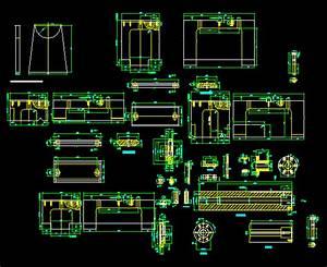 Steady Rest Dwg Detail For Autocad  U2013 Designs Cad