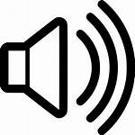 Sound Icon Noise Volume Clipart Svg Loudness