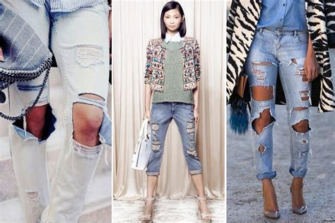 Different Ways To Wear Distressed Jeans