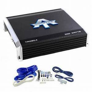 Autotek Ta1050 4 4 Channel 1000 Watt Amp Car Audio Power