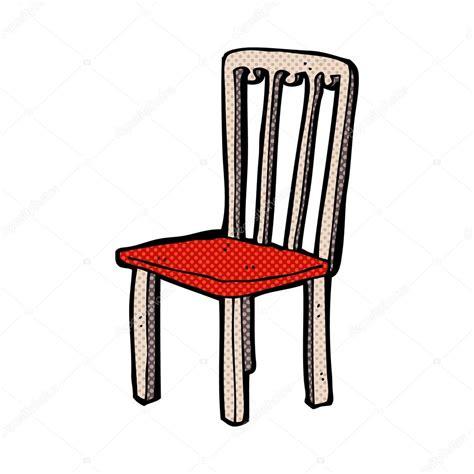 dessin de chaise vieille chaise dessin animé comique image vectorielle