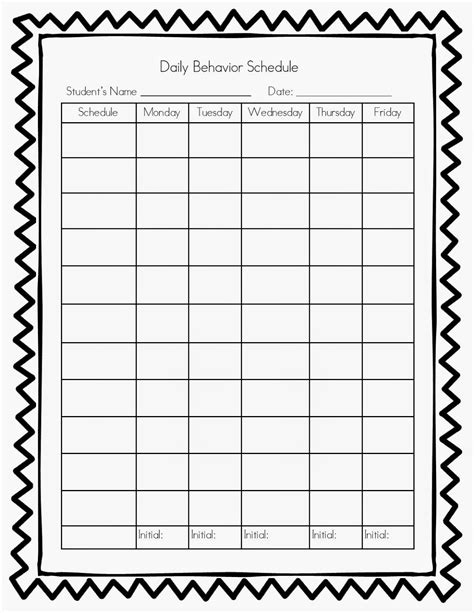 time chart template 10 best images of blank time charts templates blank