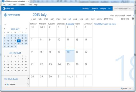 Office 365 Outlook How To Calendar by The New Look Of Office 365 Outlook Web App