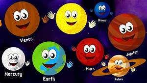 The Planets Song | Nursery Rhymes and Kids Songs | Songs ...