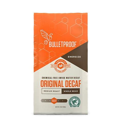 I find when i drink a mug of keto coffee in the morning. The Original Whole Bean DECAF Coffee   Bulletproof   340g - Oceans Alive Health