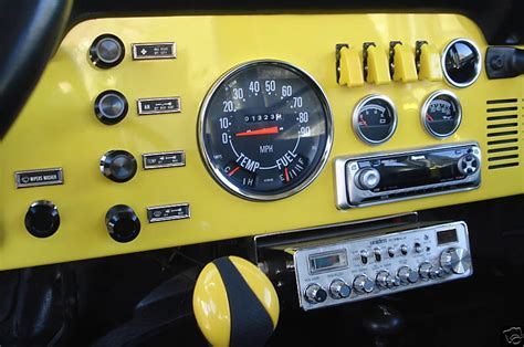 Cj7 Radio Wiring by Ideas On Cj7 Din Radio Install