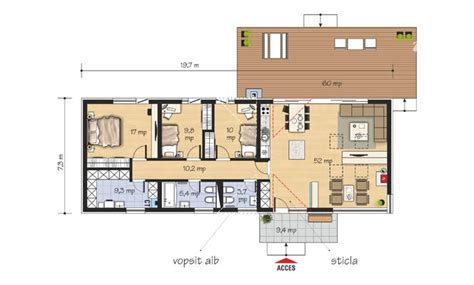 Home Design Level 41 : Proiecte De Case Moderne Pe Un Singur Nivel