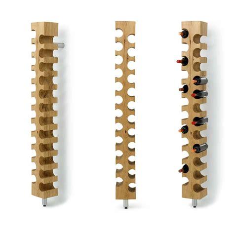 wooden wine rack kitchen interior wine bottle furniture cool wall mount