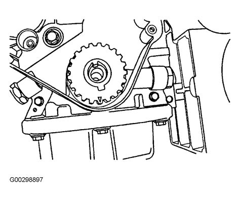Chevrolet Aveo Serpentine Belt Routing Timing