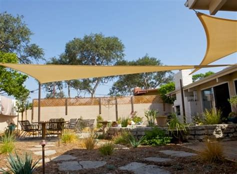 cover your outdoor space with shade sails patio