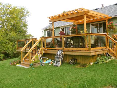 deck designs with pergola small deck pergola designs home design ideas