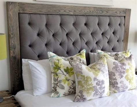 upholstered headboard with wood frame bedroom the stylish upholstered headboard with
